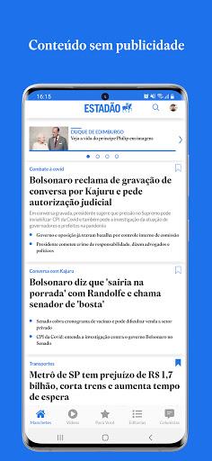 Estadu00e3o - notu00edcias com credibilidade android2mod screenshots 1