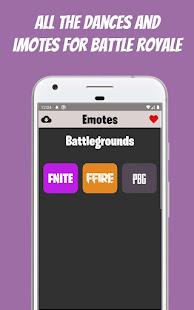 iMotes   Dances & Emotes Battle Royale 2.8 Screenshots 1