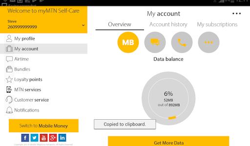 MyMTN  Screenshots 10