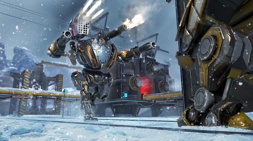 Mech Wars: Multiplayer Robots Battle modavailable screenshots 1