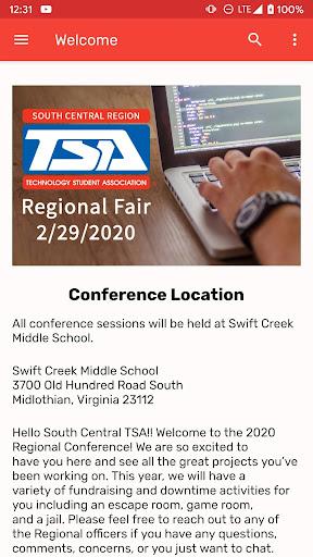 Virginia TSA SC Regional Fair  screenshots 2