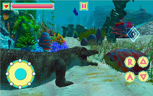 Underwater Crocodile Simulator – Crocodile Games 1.1 screenshots 1