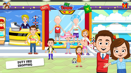 My Town : Airport. Free Airplane Games for kids  screenshots 4
