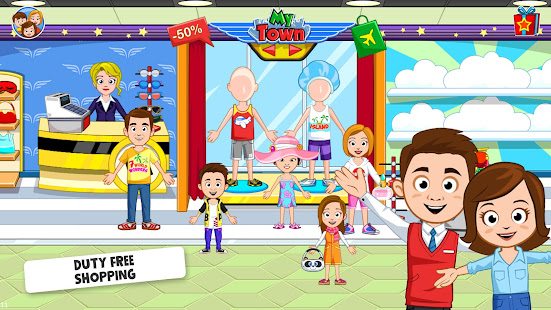 My Town : Airport. Free Airplane Games for kids Mod Apk