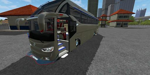Mod Bus SR2 XHD Prime Racing BUSSID Terbaru 2021 1.3 Screenshots 1
