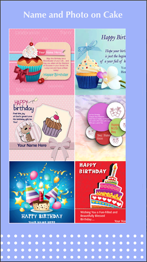Birthday cake with name and photo - Birthday Song android2mod screenshots 4