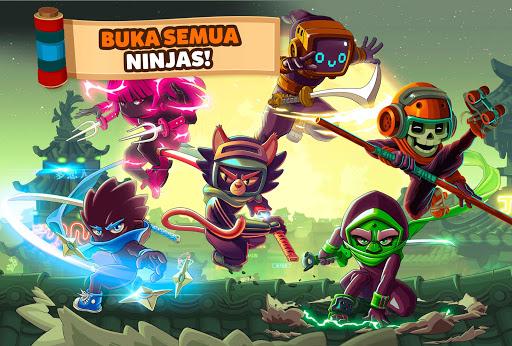 Ninja Dash – Ronin Shinobi: Lari, lompat dan tebas