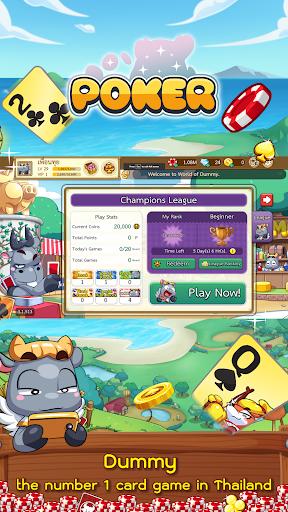 Dummy & Toon Poker Texas Online Card Game 3.2.594 screenshots 3