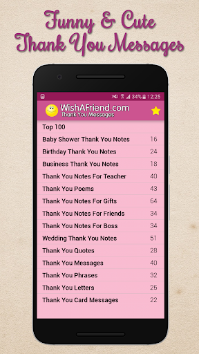 Thank You Messages, Letters & Notes - Share Images  screenshots 1