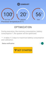 Speed up and optimize your phone