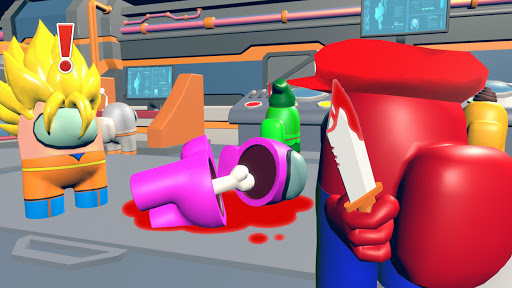 Dark imposter Attack - Crewmate kill screenshots 18