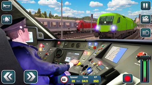 Euro Train Driver Sim 2020: 3D Train Station Games apkdebit screenshots 13