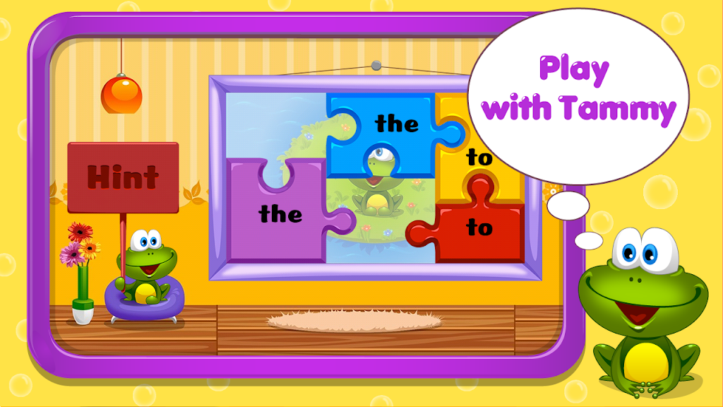 Kids Reading Sight Words  poster 4