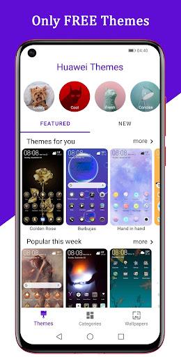 Free EMUI themes for Huawei and Honor 2.3 Screenshots 1