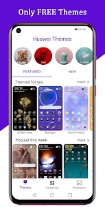 Free EMUI themes for Huawei and Honor 2.5