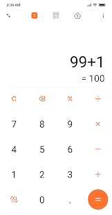Mi Calculator Screenshot