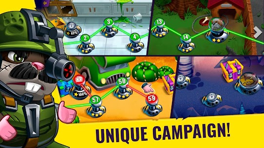 Hamsters: PVP Fight for Freedom Mod Apk 1.50 1
