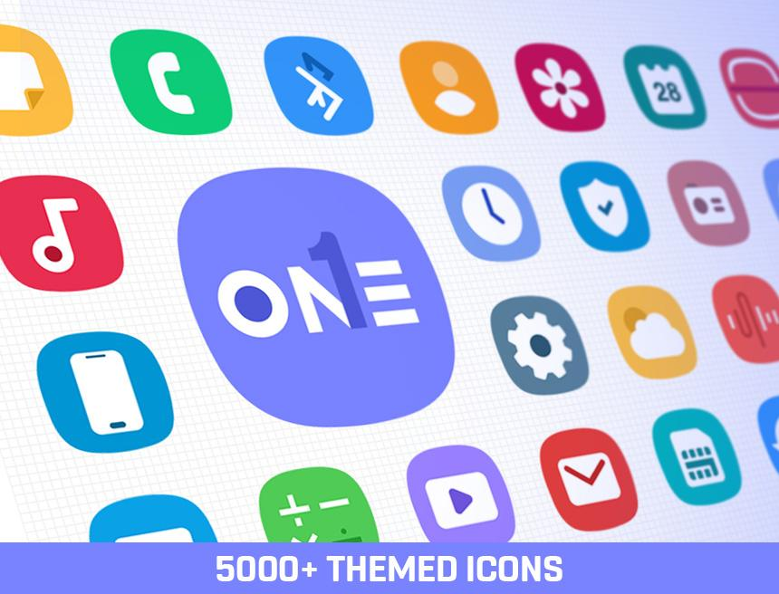 ONE UI Icon Pack poster 5