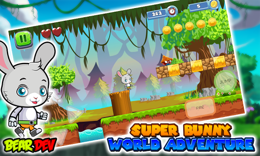 super bunny world adventure screenshot 2