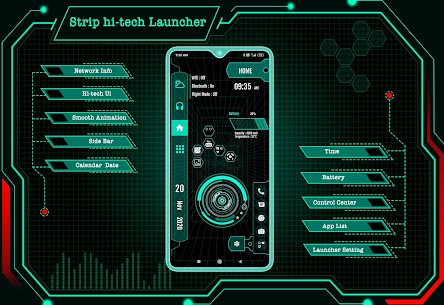 Strip Hitech Launcher 2020 For Pc – Latest Version For Windows- Free Download 1
