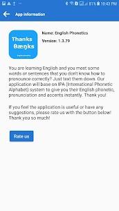 English Phonetics Mod Apk- English Text to Phonetics, IPA (No Ads) 8
