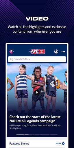 AFL Live Official App  screenshots 3