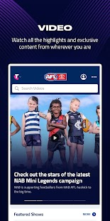 AFL Live Official App Screenshot