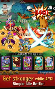 Epic Merge Heroes Mod Apk- Idle RPG (Unlimited Gold) 4