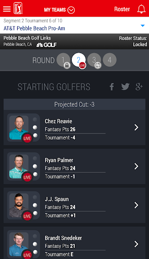 PGA TOUR Fantasy Golf  screenshots 2