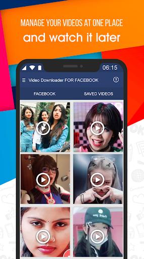 Video Downloader for Facebook apktram screenshots 2