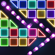 Bricks Breaker - Glow Balls Blast