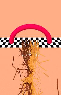 Schermata della corsa di rasatura