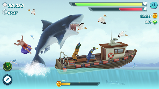 Hungry Shark Evolution - Offline survival game  screenshots 1