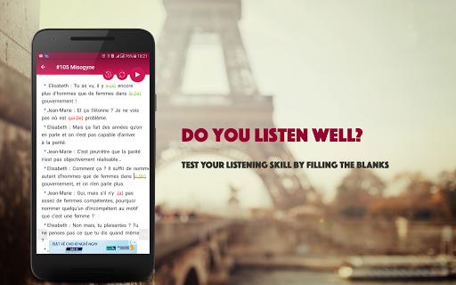 French Conversation: Learn to speak French android2mod screenshots 10