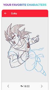 WeDraw - How to Draw Anime & Cartoon 1.0 Screenshots 6