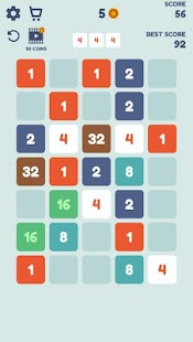 2048 Puzzle Game Screenshot