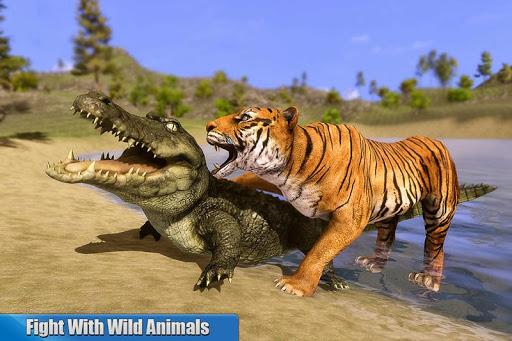 Tiger Family Simulator: Angry Tiger Games 1.0 screenshots 1