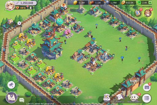 Dawn of Dynasty apkpoly screenshots 12