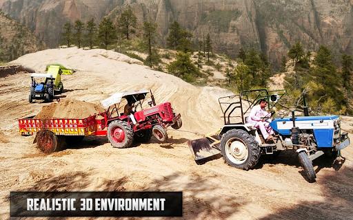 New Tractor trolley Farming Cargo Driver 3D  screenshots 4