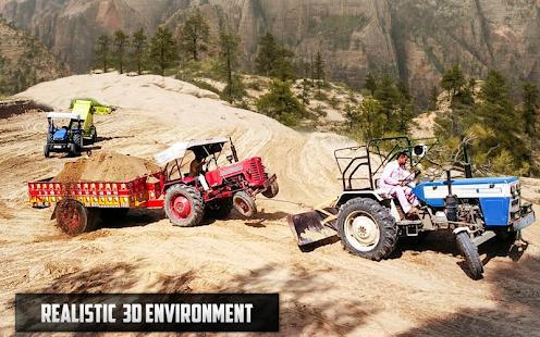 New Tractor trolley Farming Cargo Driver 3D 1.0.6 screenshots 4