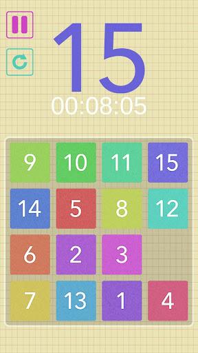 15 puzzle! screenshot 1