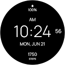 Black Fit Watch Face