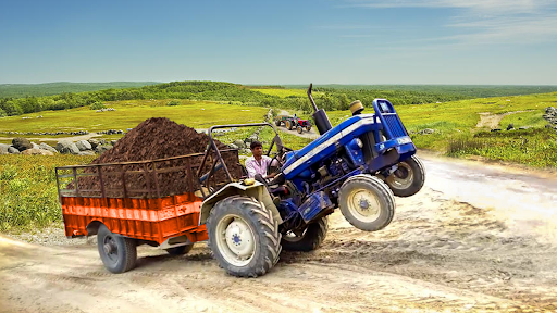 Real Cargo Tractor Trolley Farming Simulation Game  screenshots 11