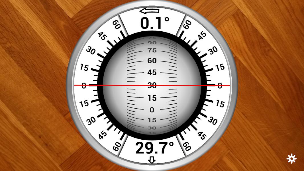 Rotating Sphere Inclinometer