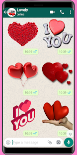 New Amor Stickers 2020 ❤️ WAStickerApps Amor