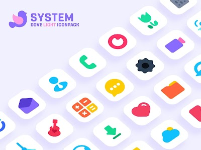 Dove Light : Icon Pack 1.8 (Patched)
