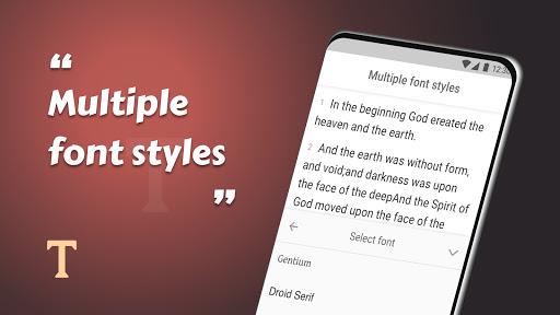 King James Bible (KJV) - Free Bible Verses + Audio android2mod screenshots 16