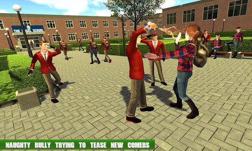 High School Gangster Bully Fights Karate Girl Game apklade screenshots 1