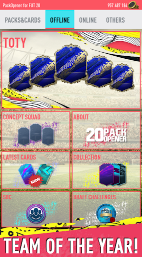 Pack Opener for FUT 20 by SMOQ GAMES 4.49 Screenshots 14