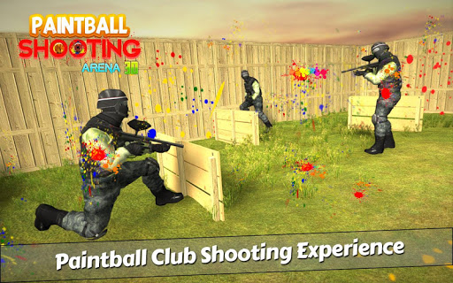 PaintBall Shooting Arena3D : Army StrikeTraining  screenshots 14